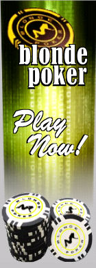 Play poker at the blonde poker online cardroom
