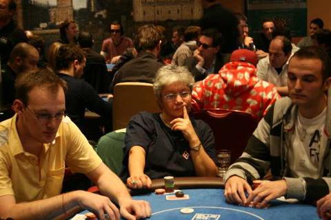 Michael Muldoon Lucy Rokach Rob Sherwood Blonde Poker